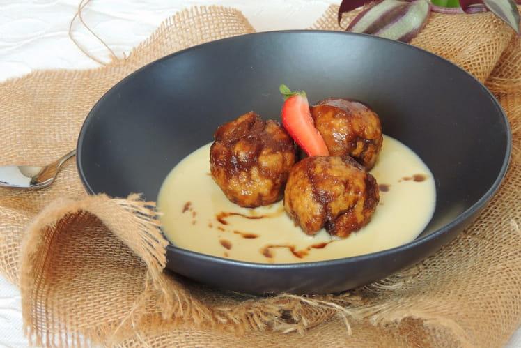 Dumplings noix de coco et chocolat