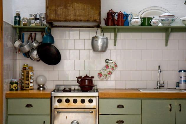 Une cuisine comme au bon vieux temps