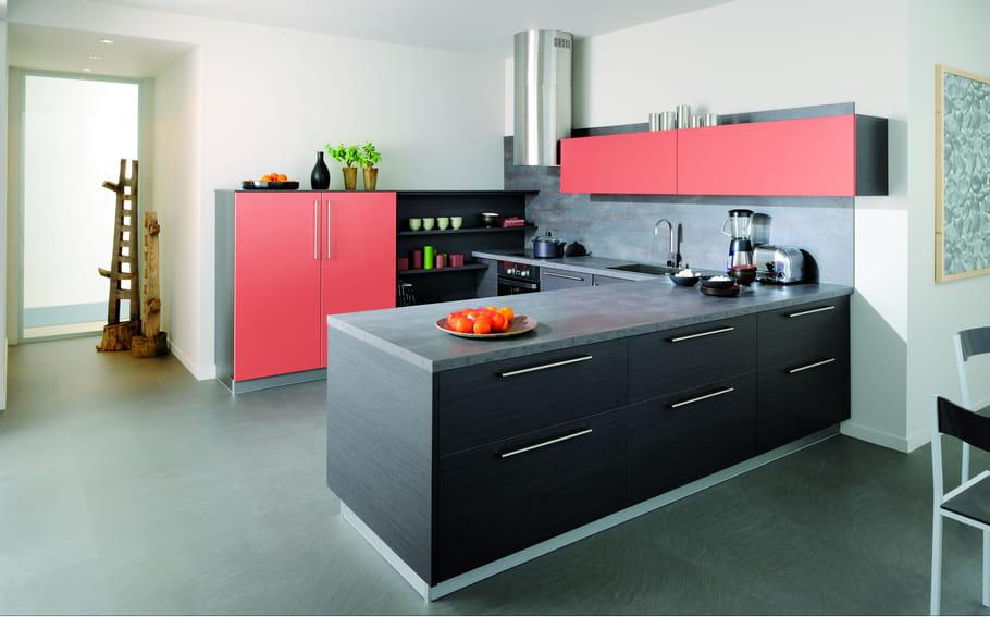 cuisine trend graphite bross goyave cuisinella cuisine 32 nouveaut s faciles vivre. Black Bedroom Furniture Sets. Home Design Ideas