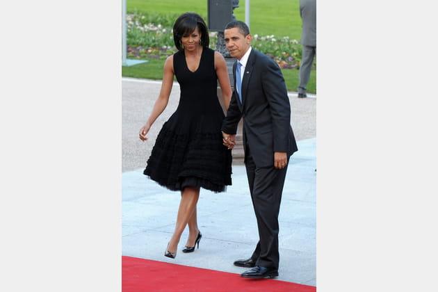 Michelle Obama le 4avril 2009