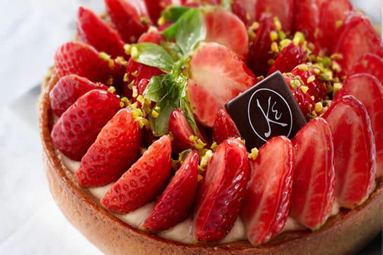 Tarte aux fraises d'Eric Kayser