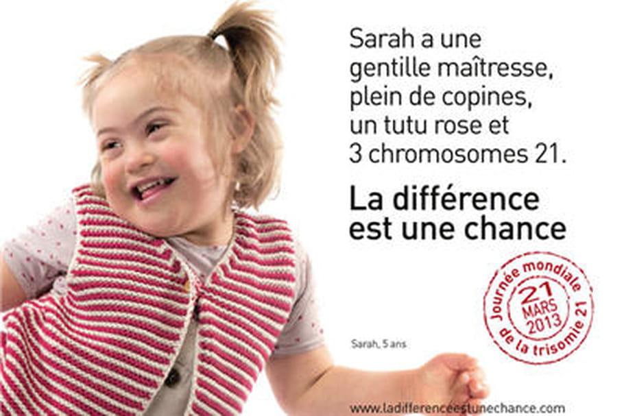 Trisomie 21: une campagne pour sensibiliser à la différence