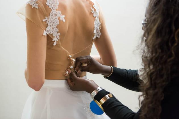 Les ajustements de la robe Bagatelle