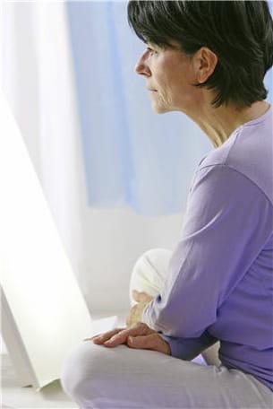 les cures de lumière aident à réguler les troubles de l'humeur.