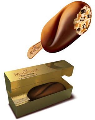 magnum 'temptation' chocolat ou amande