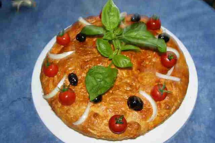 Pizza à la calabraise