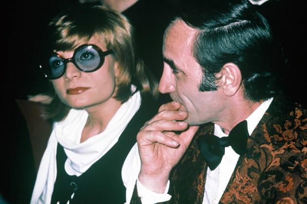 Avec sa soeur aînée Aida Aznavour au spectacle de Jerry Lewis l'Olympia,1971