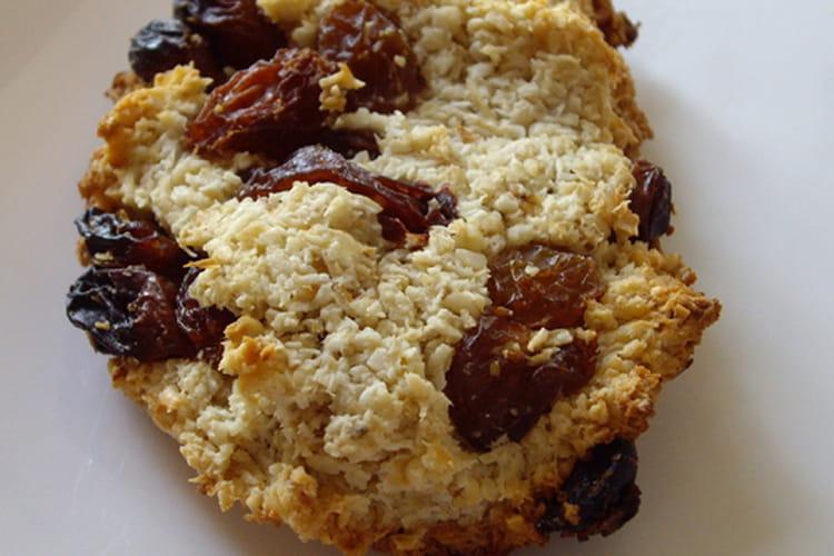 Cookies avoine-coco-amandes