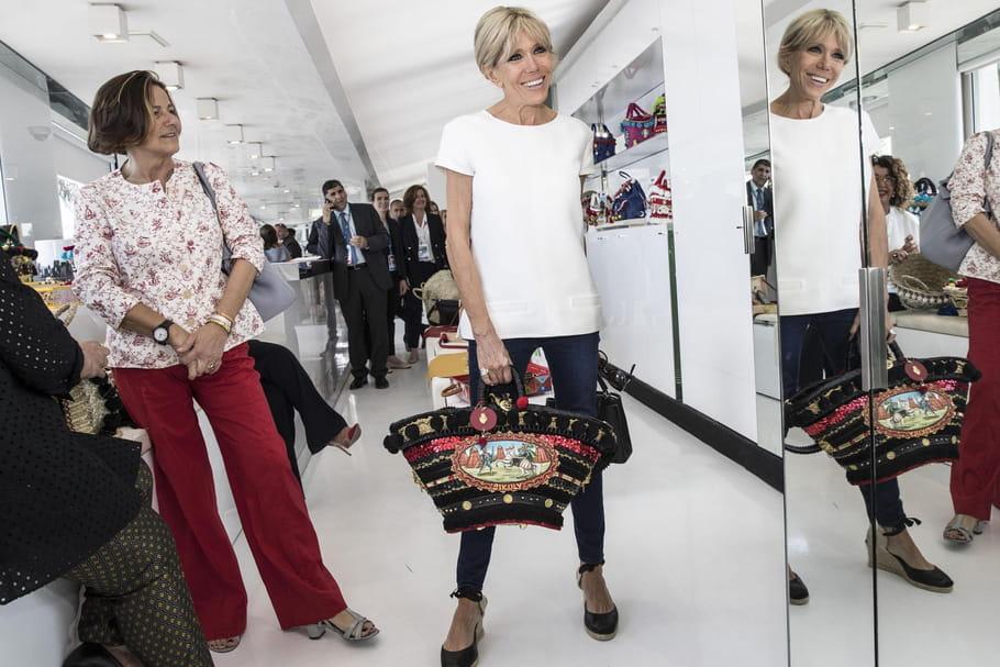 De quel jean Brigitte Macron est-elle une inconditionnelle?