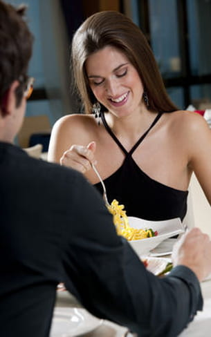 choisissez un restaurant où vous serez à l'aise.