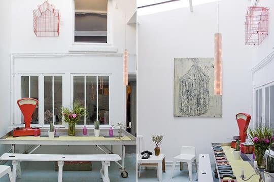 Une véritable petite galerie d'art