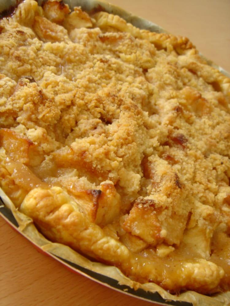recette de tarte aux pommes fa 231 on crumble la recette facile