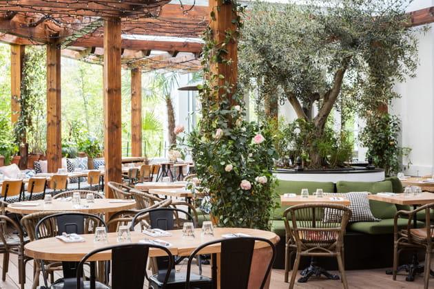 La terrasse du restaurant Brasserie Auteuil à Paris