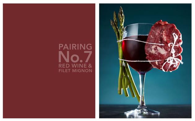 Vin rouge et filet mignon