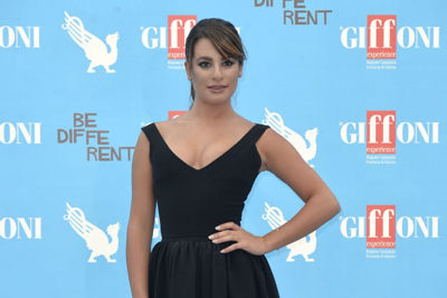 Le look people du jour: Lea Michele, séduisante