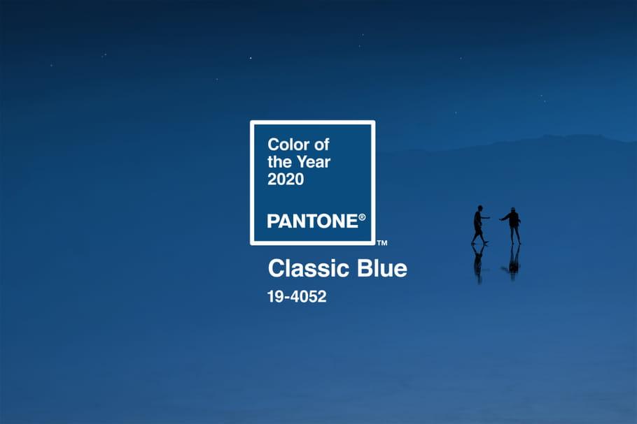 La couleur Pantone 2020est Classic Blue!