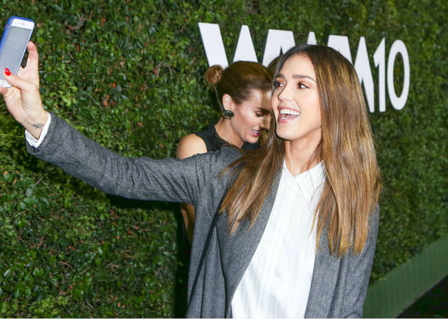 Jessica Alba, fan d'elle-même
