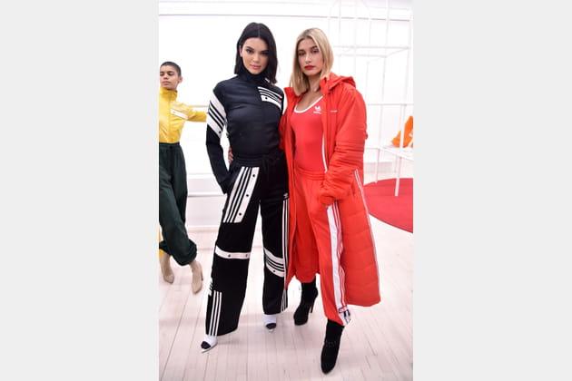 Kendall Jenner en suvêtement adidas X Danielle Cathari