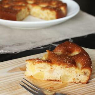 gâteau pépère aux poires
