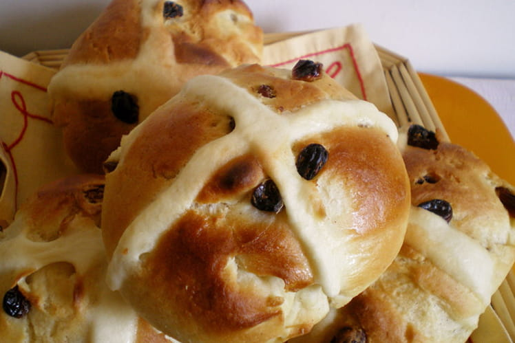 Brioches de Pâques ou Hot cross buns