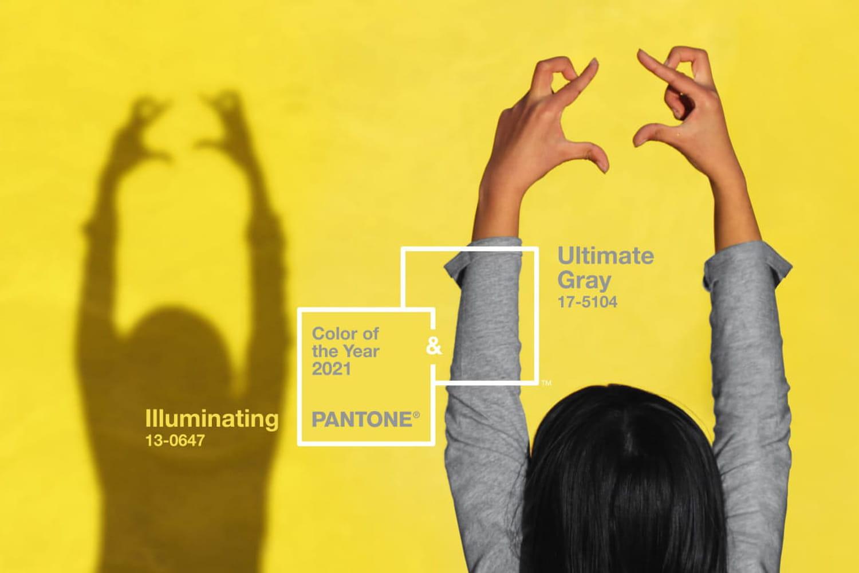 Couleurs Pantone 2021: décryptage des deux couleurs de l'année