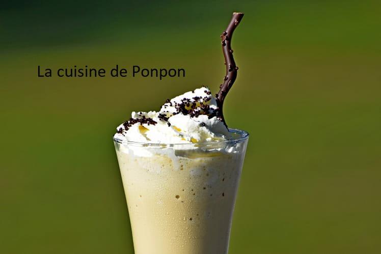 Milk shake au café