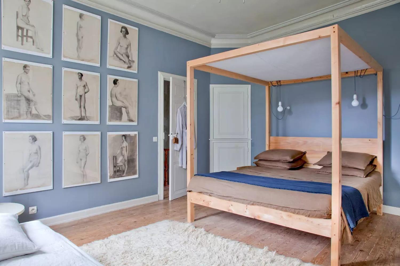 Chambre bleue: 40inspirations pour une déco tendance et apaisante