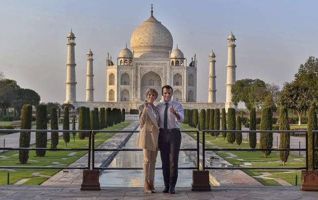 Brigitte et Emmanuel Macron: photos d'un amour inconditionnel