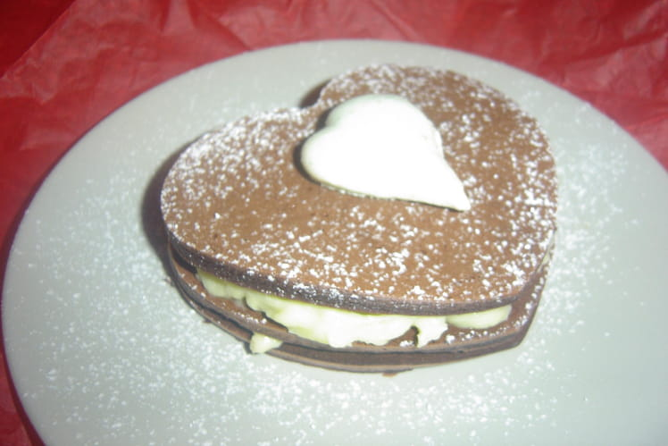 Mille-feuille menthe-chocolat