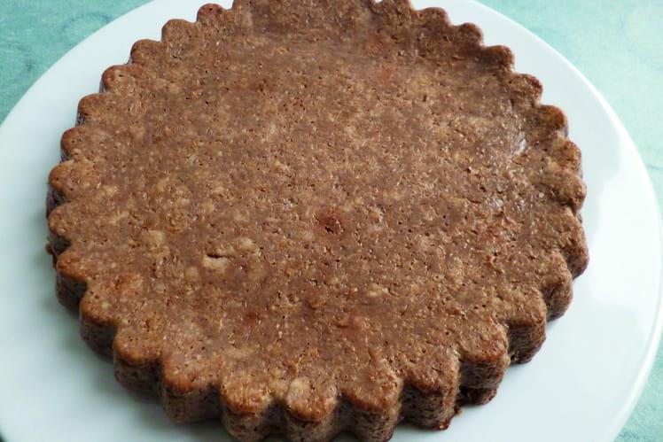 Gâteau cacao coco châtaigne sarrasin avec okara de soja