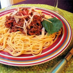 spaghettis sauce bolognaise