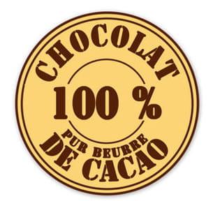 les chocolatiers ont crée un label 'pur beurre de chocolat' pour contrer la