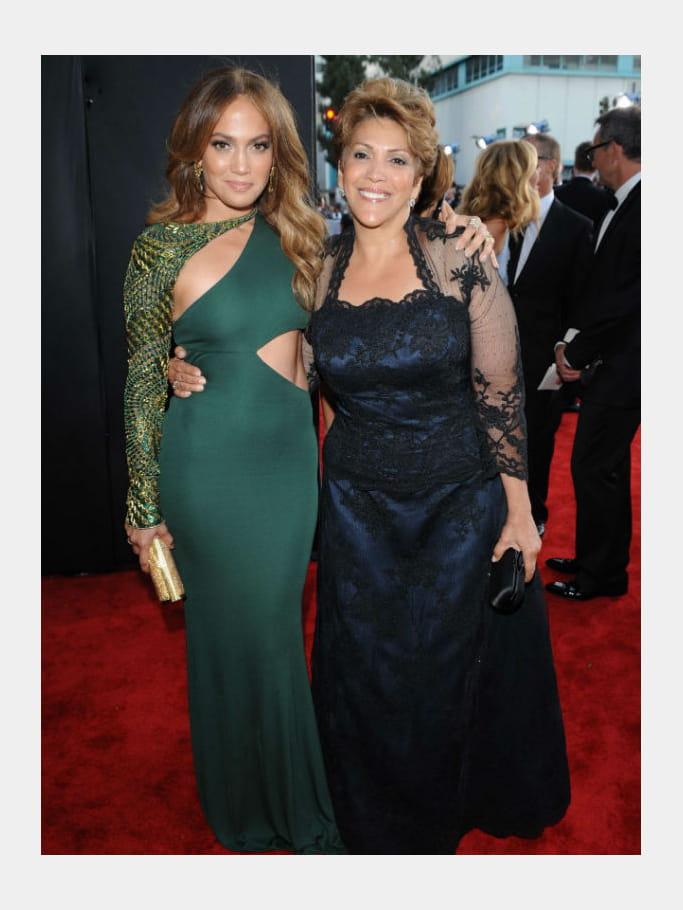 Jennifer Lopez et sa mère Guadalupe Lopez