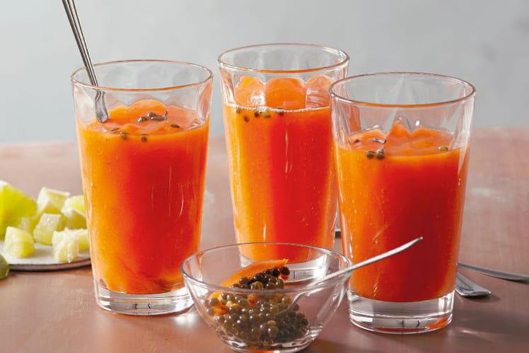 Cocktail brûle-graisse fraîcheur