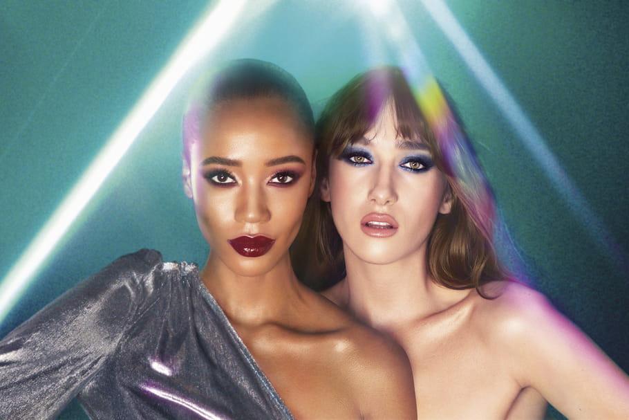 Maquillage disco: cette tendance des années 70revient!