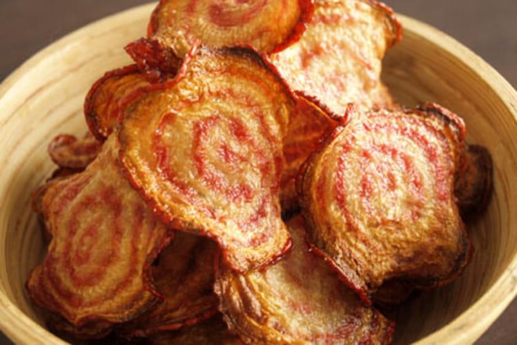 Chips de betterave bicolore