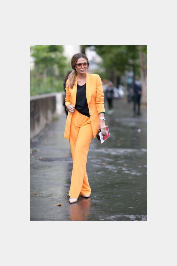 Street looks fashion week haute couture : trendy