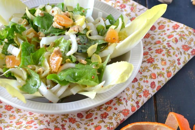 Salade d'endives à la clémentine