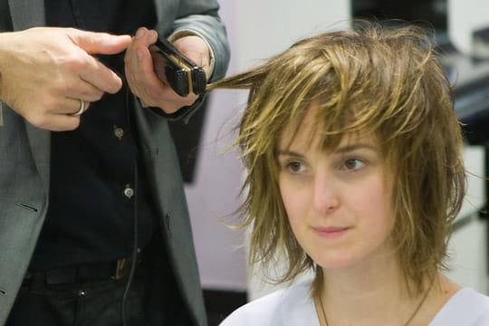 Les finitions du coiffage