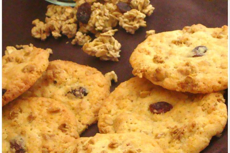 Cookies énergétiques au Granola