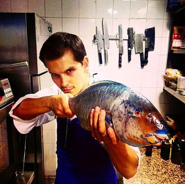 Juan Arbelaez dégaine son poisson-perroquet