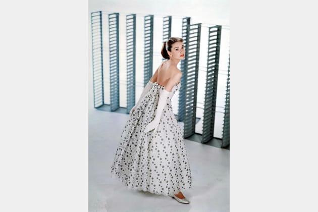 Audrey Hepburn en robe Givenchy