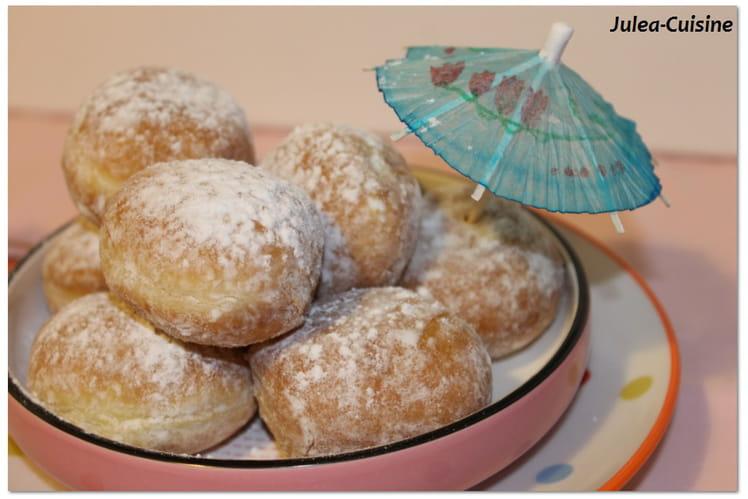 Beignets de Carnaval au sucre, cuisson au four