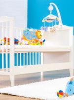 une chambre douce et confortable pour bébé.
