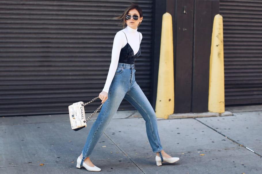 Le look blogueuse de la semaine: Danielle Bernstein entre dans l'hiver à pas de velours