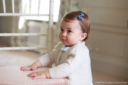 Charlotte, à un an