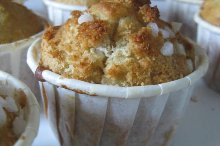 Muffins à la banane et coco