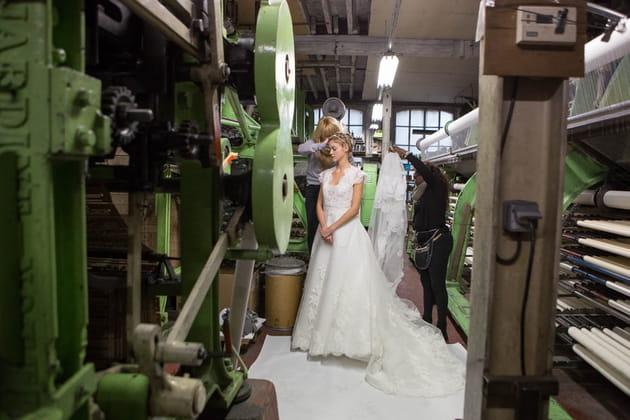 Les ateliers de fabrication de la dentelle