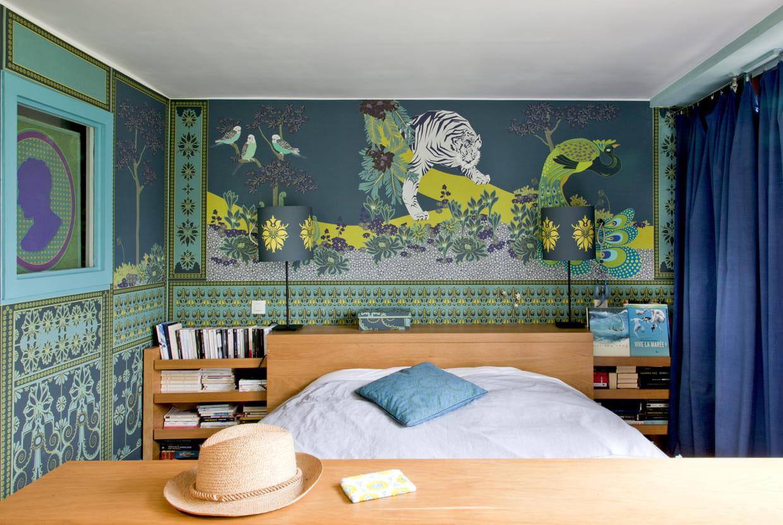 ambiance jungle. Black Bedroom Furniture Sets. Home Design Ideas