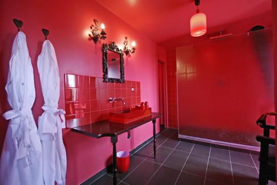 La salle de bains Moulin Rouge